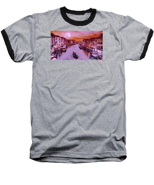 Monkey Painted Italy Again Baseball T-Shirt