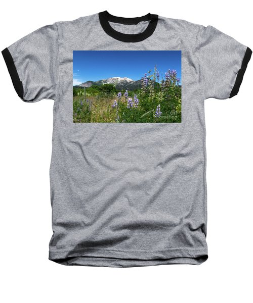 Mammoth Meadow   Baseball T-Shirt