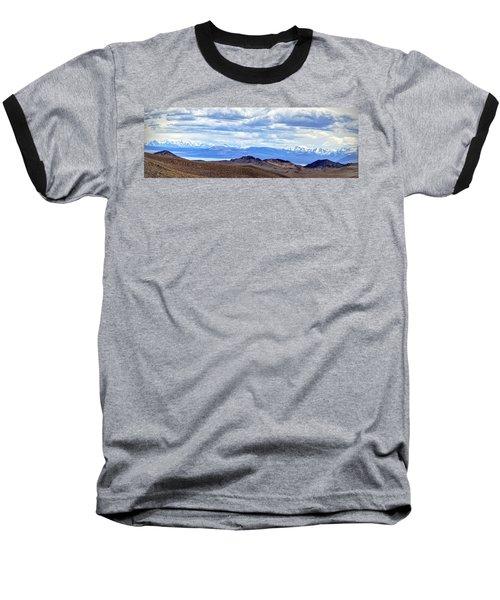 Mono Lake From Bodie Hills Baseball T-Shirt