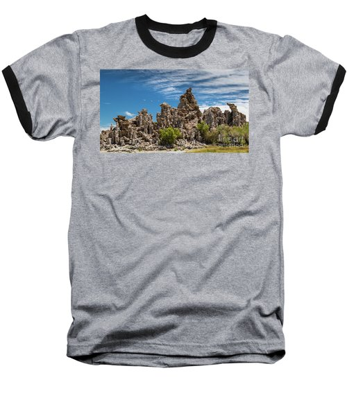 Mono Lake Tufa Baseball T-Shirt