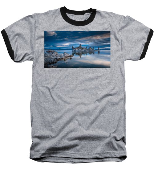 Mono Lake Tufas Baseball T-Shirt