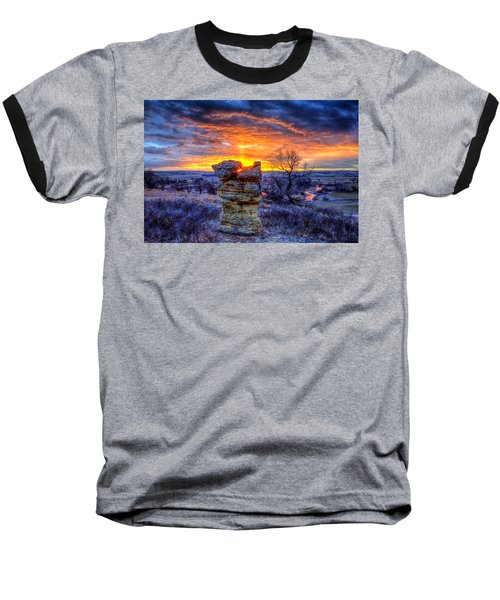 Monolithic Sunrise Baseball T-Shirt