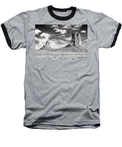 Baseball T-Shirt featuring the photograph Monoliths by Jon Glaser