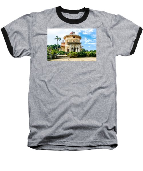 Baseball T-Shirt featuring the photograph Monserrate Palace by Marion McCristall