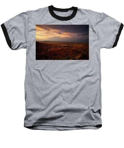 Monsoon Storm Afterglow Baseball T-Shirt