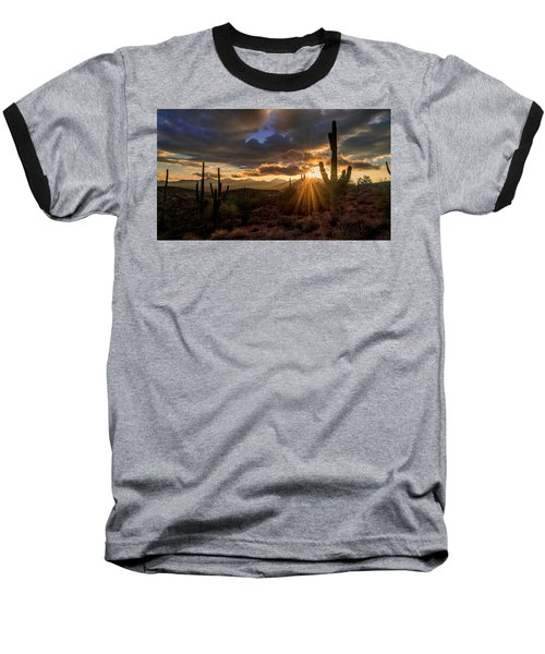 Monsoon Sunburst Baseball T-Shirt