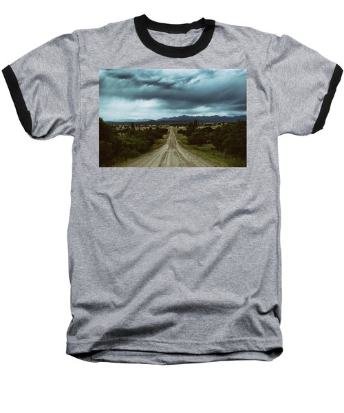 Monsoons From The Meadows Baseball T-Shirt by Jason Coward