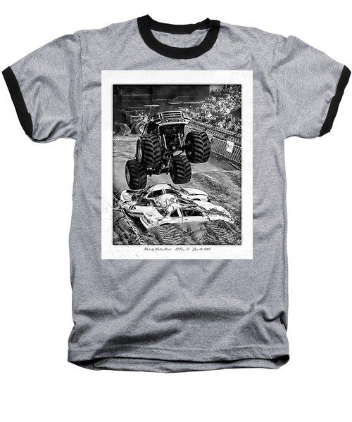 Monster Truck 2b Baseball T-Shirt