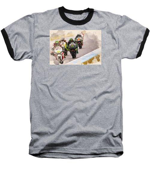 Monster Yamaha Tech 3, Baseball T-Shirt
