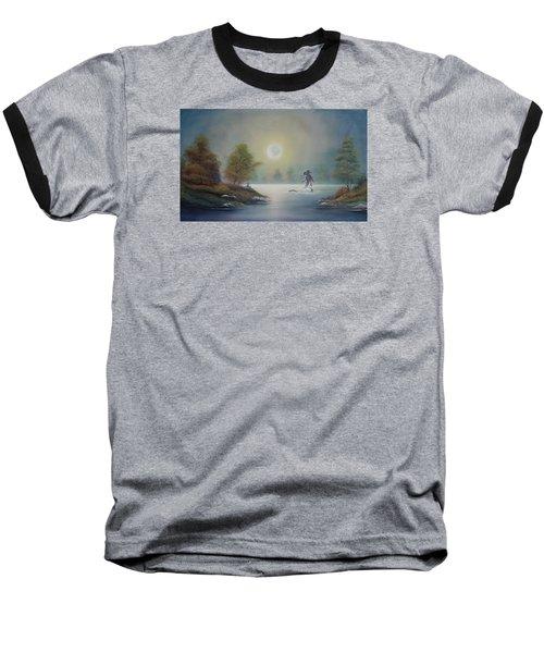 Monstruo Ness Baseball T-Shirt