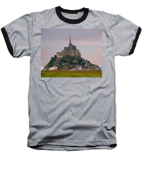 Mont Saint Michel Baseball T-Shirt