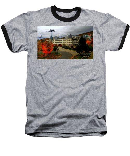 Mont Tremblant,quebec,canada Baseball T-Shirt
