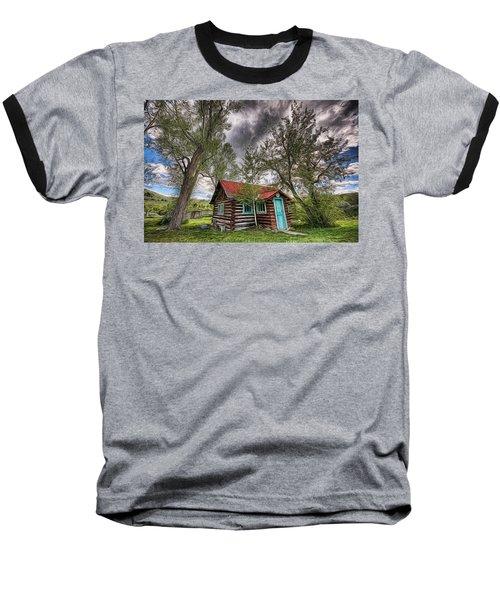 Montana Cabin Baseball T-Shirt