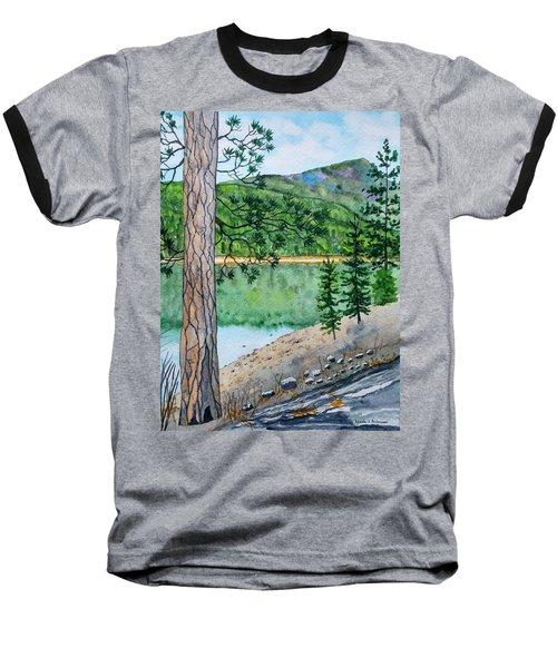 Montana - Lake Como Baseball T-Shirt