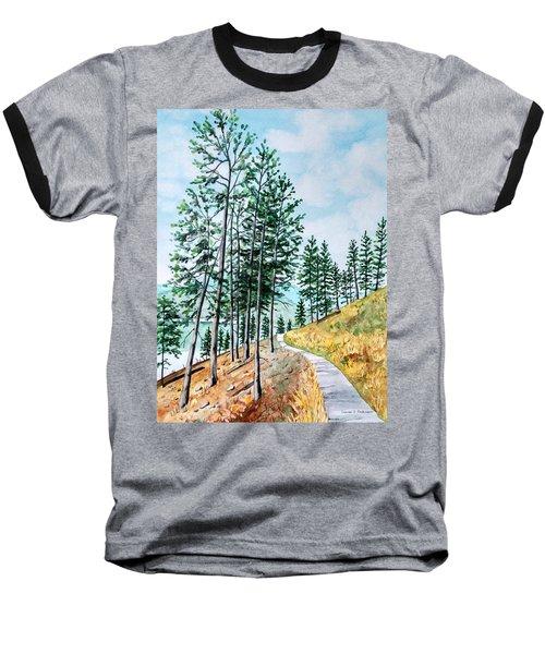 Montana Lake Como Trail Baseball T-Shirt