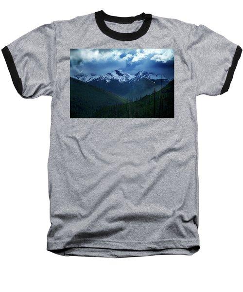 Montana Mountain Vista #2 Baseball T-Shirt