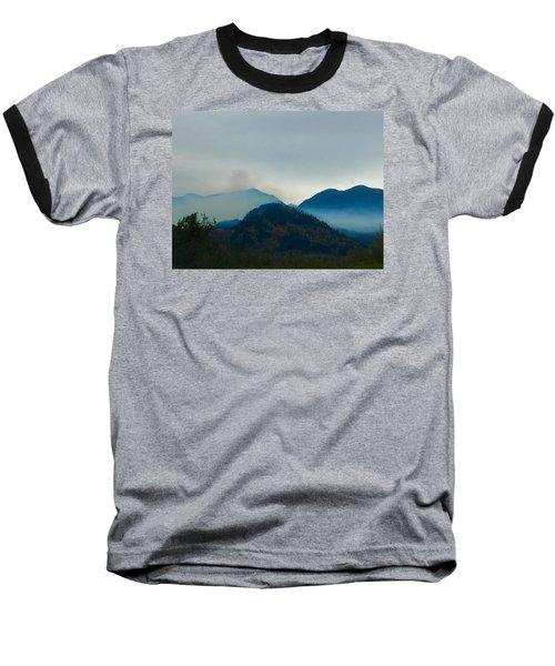 Montana Mountains Baseball T-Shirt by Suzanne Lorenz
