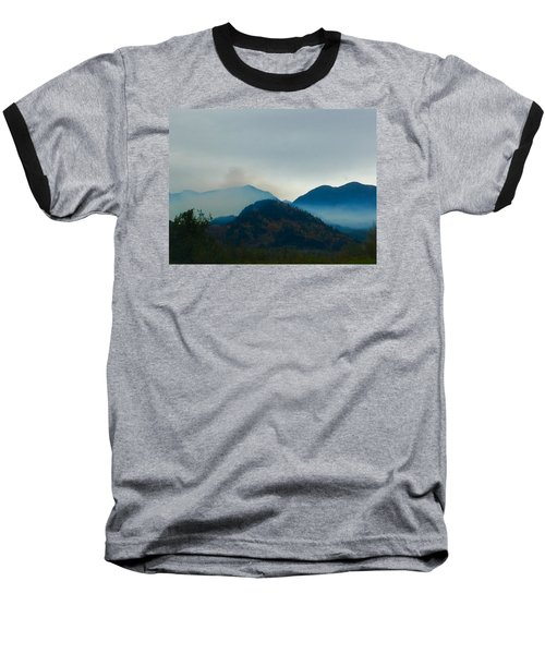 Montana Mountains Baseball T-Shirt