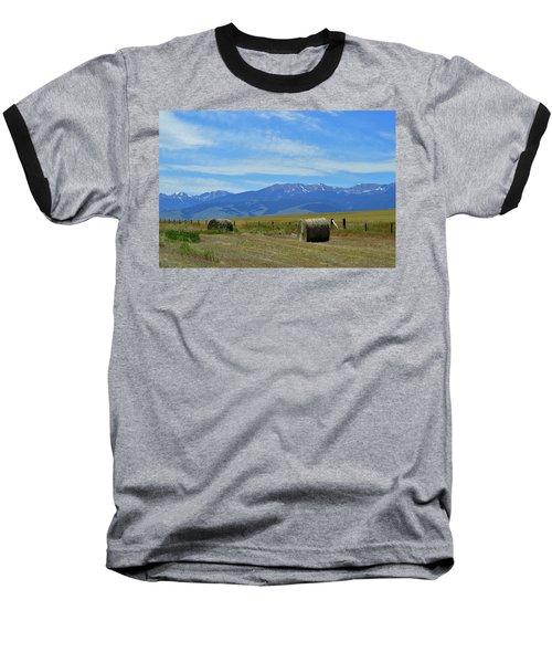 Montana Scene Baseball T-Shirt