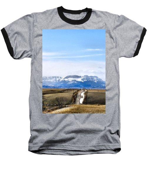 Montana Scenery One Baseball T-Shirt