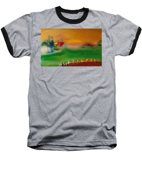 Montauk Marina Baseball T-Shirt