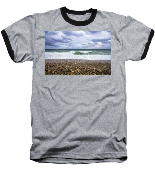 Montauk Shore Break Baseball T-Shirt