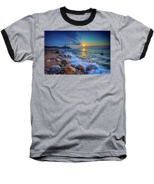 Montauk Sunrise Baseball T-Shirt