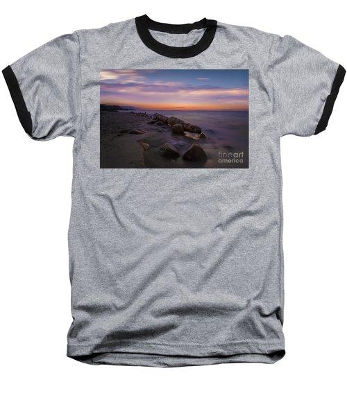 Montauk Sunset Boulders Baseball T-Shirt
