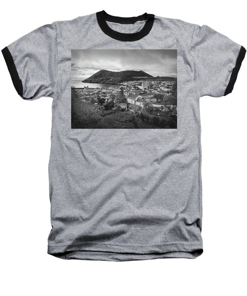 Monte Brasil And Angra Do Heroismo, Terceira Island, Azores Baseball T-Shirt by Kelly Hazel