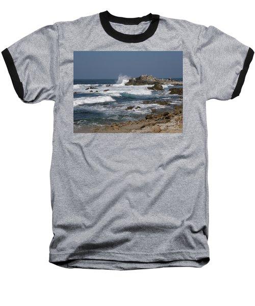 Monterey Coastline Baseball T-Shirt