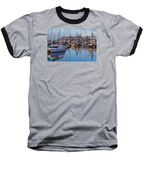 Monterey Marina Afternoon Baseball T-Shirt