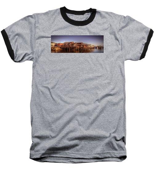Monterey Wharf Baseball T-Shirt