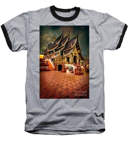 Monthian Temple Chiang Mai  Baseball T-Shirt