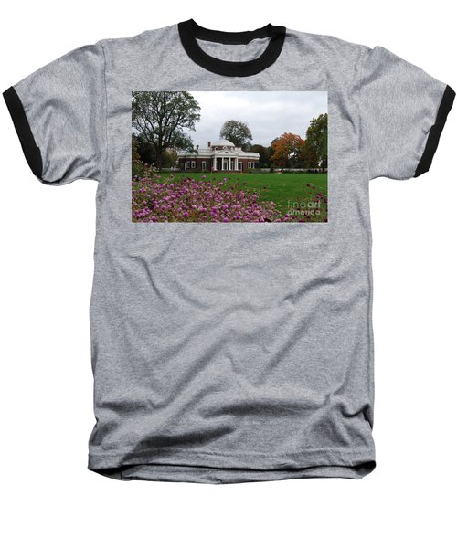 Baseball T-Shirt featuring the photograph Monticello by Eric Liller
