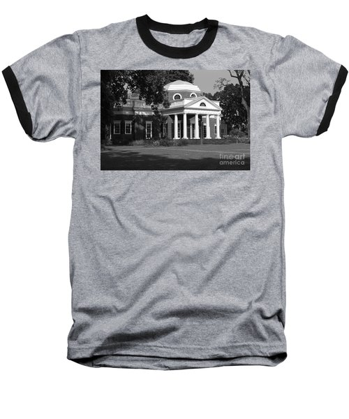 Baseball T-Shirt featuring the photograph Monticello IIi by Eric Liller