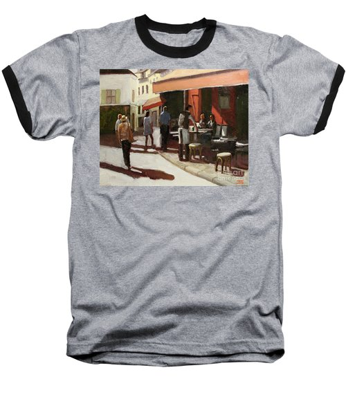 Montmarte Cafe Baseball T-Shirt