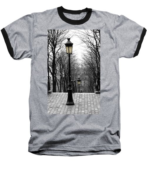 Montmartre Baseball T-Shirt by Diana Haronis