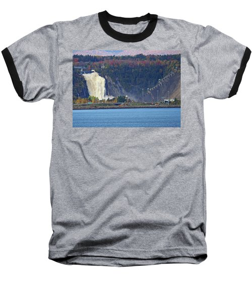 Montmorency Falls Baseball T-Shirt