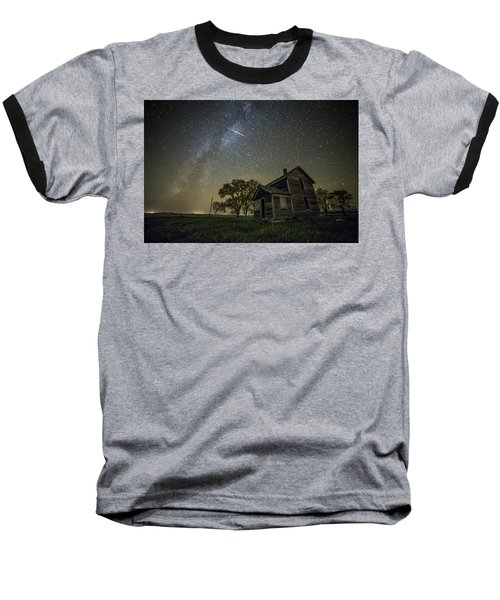 Baseball T-Shirt featuring the photograph Montrose Orionid by Aaron J Groen