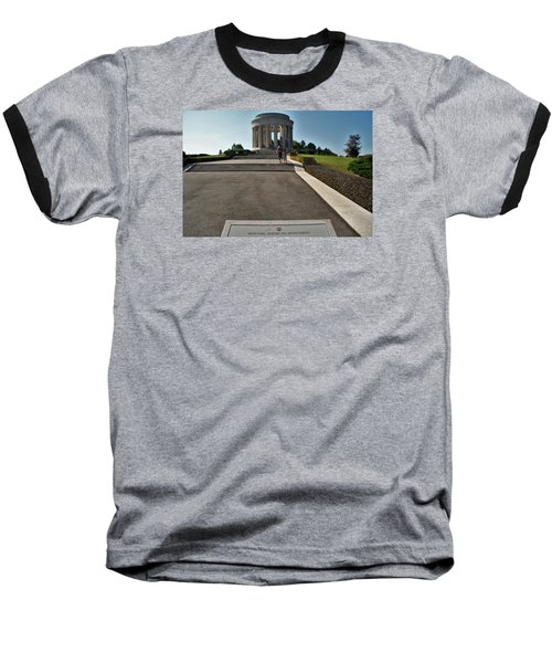 Montsec American Monument Baseball T-Shirt by Travel Pics