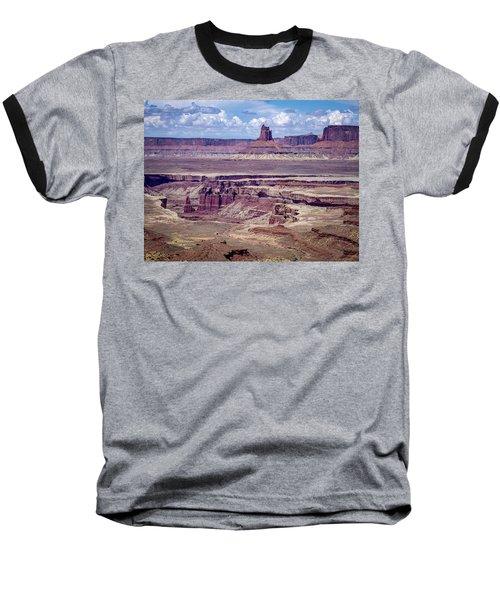 Monument Basin, Canyonlands Baseball T-Shirt