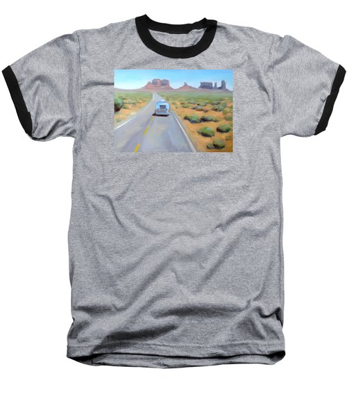 Monument Baseball T-Shirt
