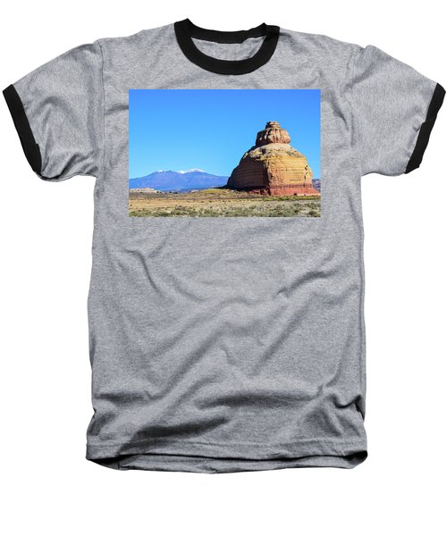 Monument To Time Baseball T-Shirt