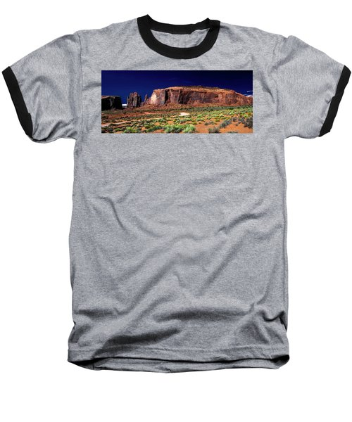Monument Valley 1 Baseball T-Shirt