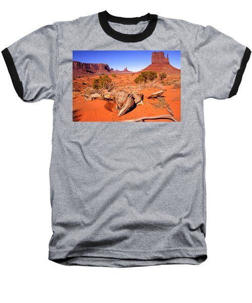 Monument Valley, Arizona, U S A Baseball T-Shirt
