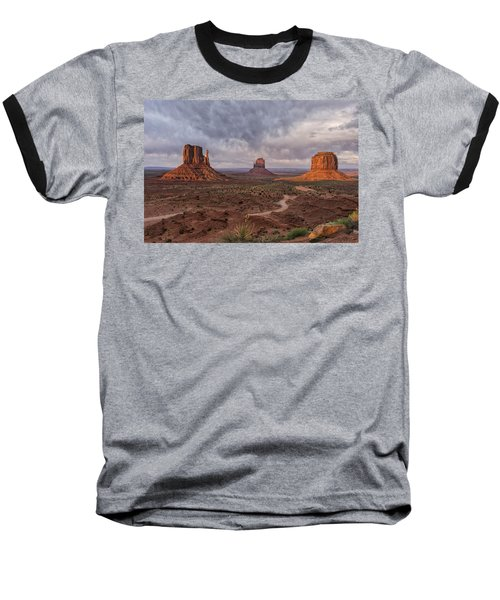 Monument Valley Mittens Az Dsc03662 Baseball T-Shirt by Greg Kluempers