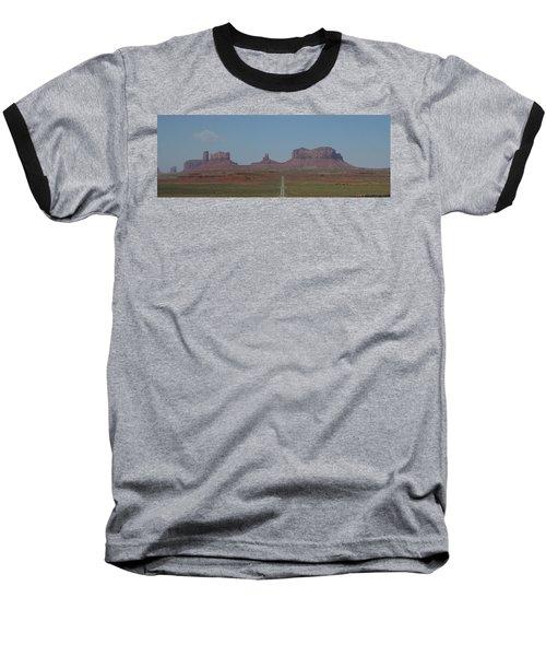 Monument Valley Navajo Tribal Park Baseball T-Shirt