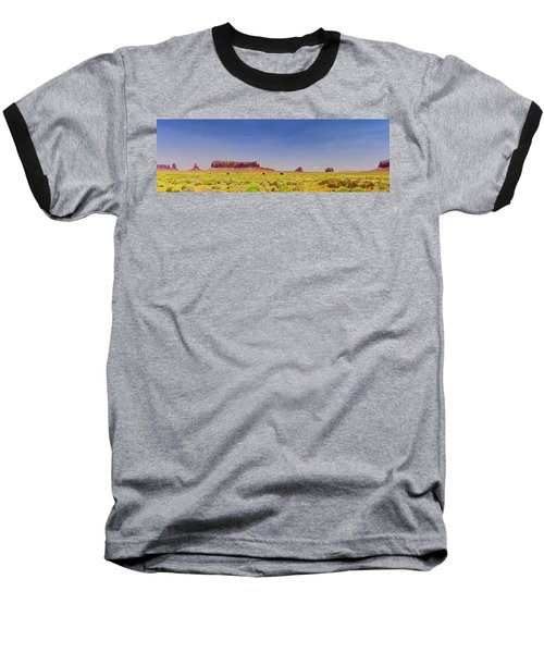 Monument Valley South View Baseball T-Shirt