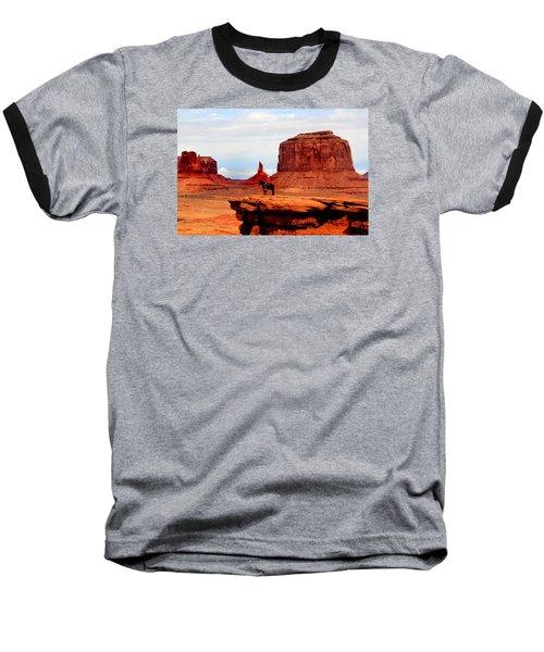 Monument Valley Baseball T-Shirt by Tom Prendergast