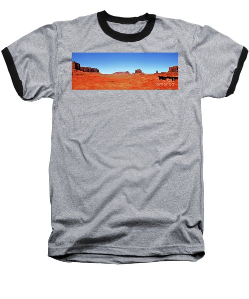 Baseball T-Shirt featuring the photograph Monument Valley Two by Paul Mashburn